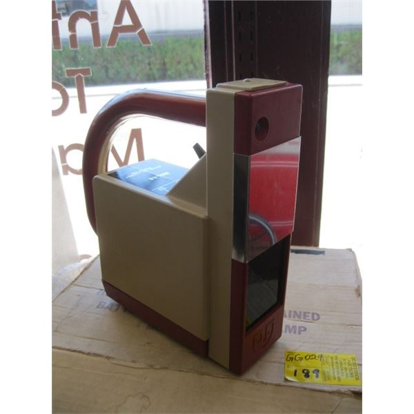 HIGH INTENSITY SELF CONTAINED BATTERY OPERATED UV LAMP