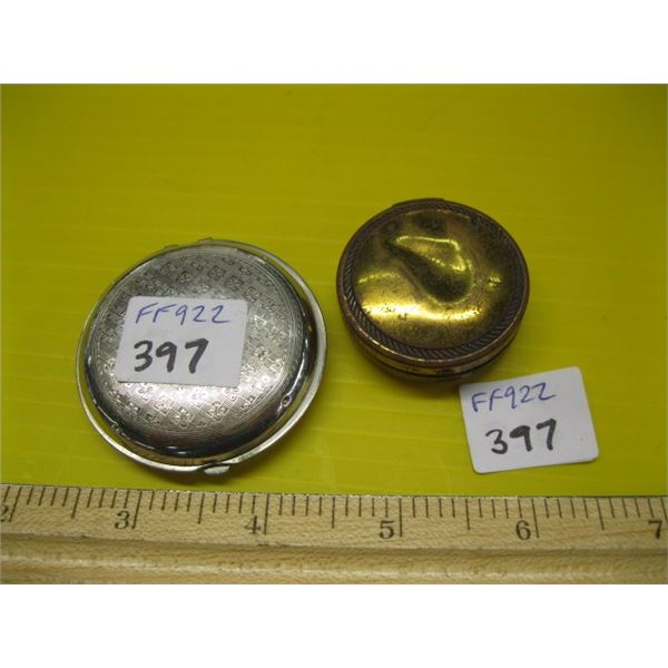 2 SMALL COMPACTS