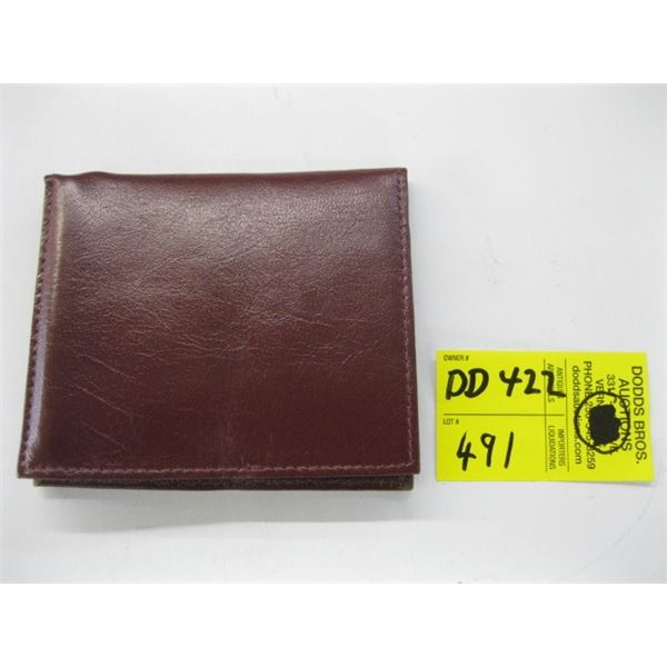 NEW MEN'S LEATHER WALLET