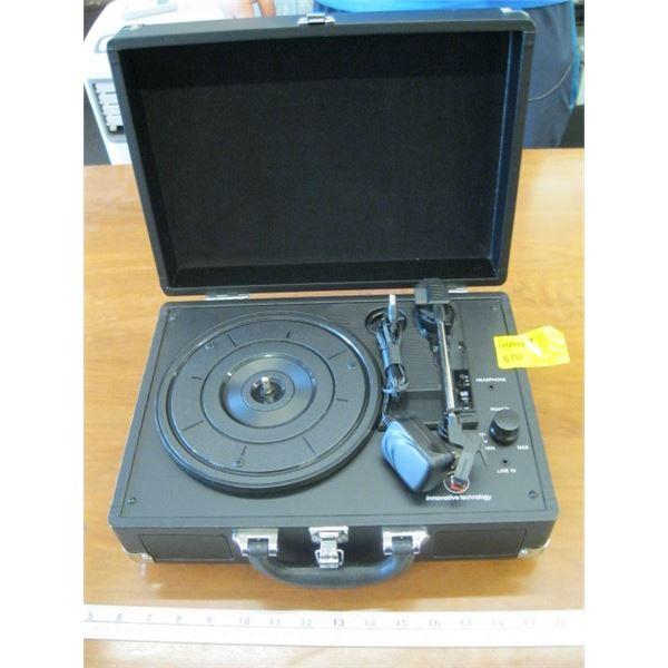 INNOVATIVE TECHNOLOGIES PORTABLE RECORD PLAYER