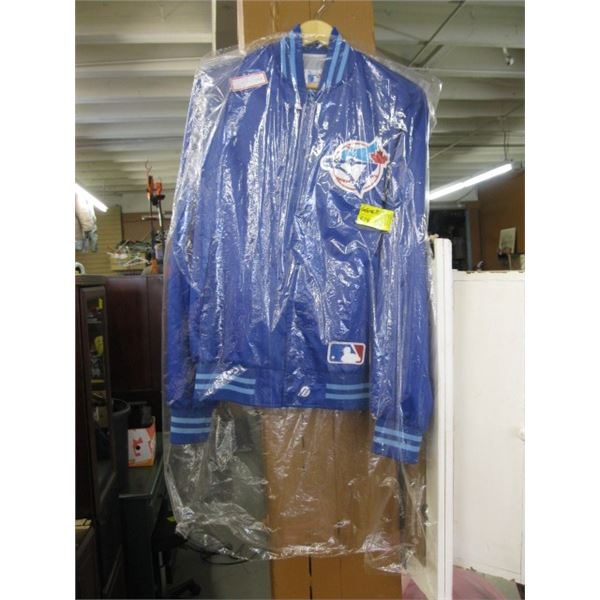 BLUEJAY XL JACKET WITH AMERICAN LEAGUE PATCH