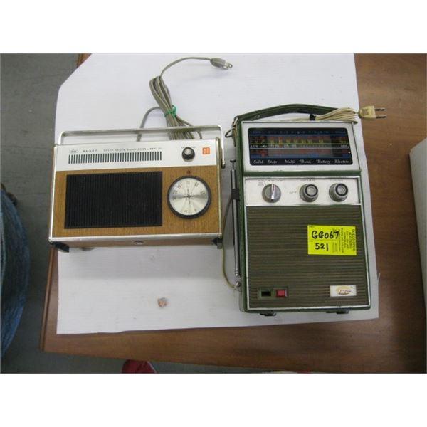 EC MULTI BAND RADIO & SHARP RADIO