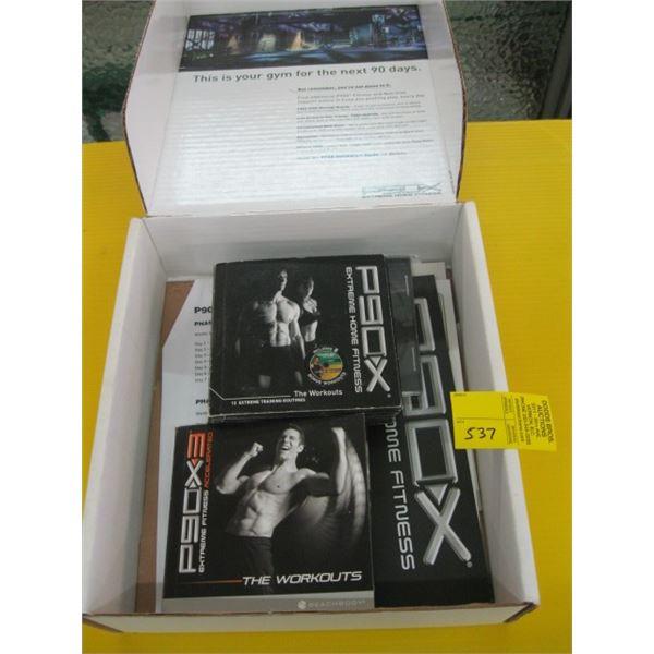 P90X WORKOUT DVD KIT