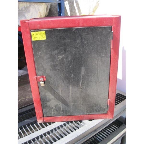 SMALL RED TOOL CABINET