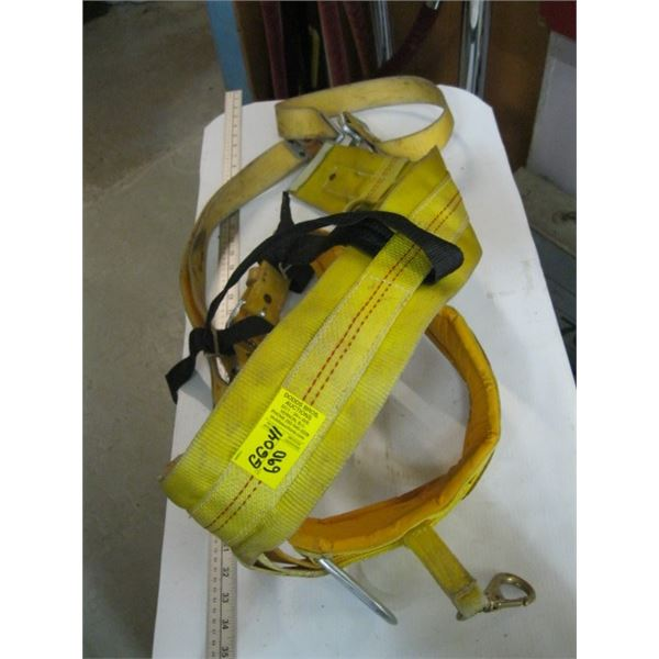 SAFETY BELT WITH STRAP