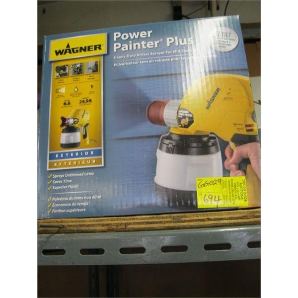 WAGONER POWER PAINTER PLUS AIRLESS PAINT SPRAYER