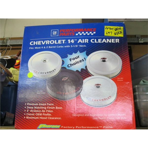"""USED CHEV 14"""" AIR CLEANER"""