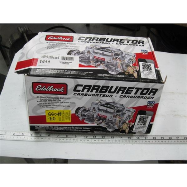 ELDABROCK PERFORMER SERIES 750 CFM WITH ELECTRONIC CHOKE CARBURETOR, NEW, MODEL 1411