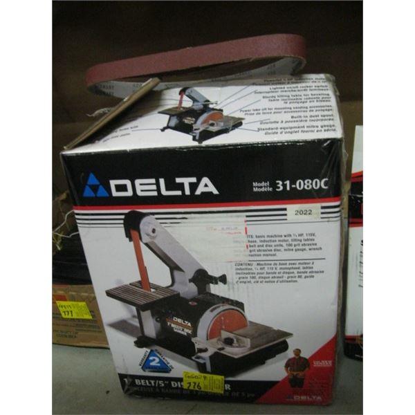"""DELTA 5"""" DISC & 1"""" BELT SANDER"""