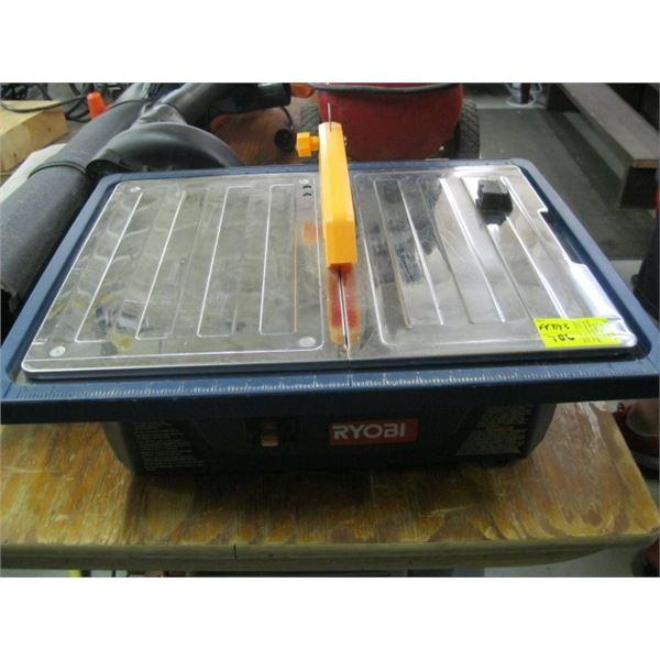 RYOBI ELECTRIC TILE CUTTER