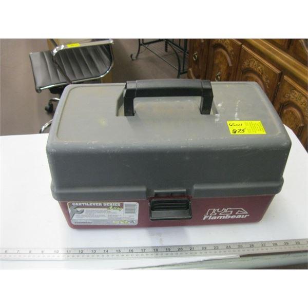 3 TRAY HEAVY DUTY TOOL BOX OR TACKLE BOX