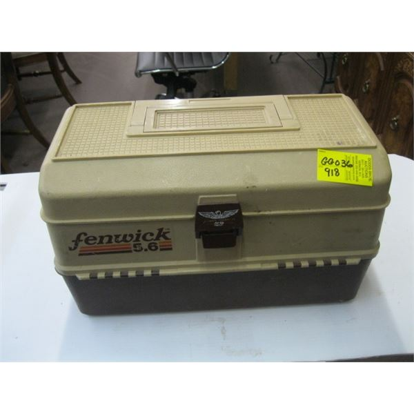FENWICK TACKLE BOX WITH ASST. CONTENTS