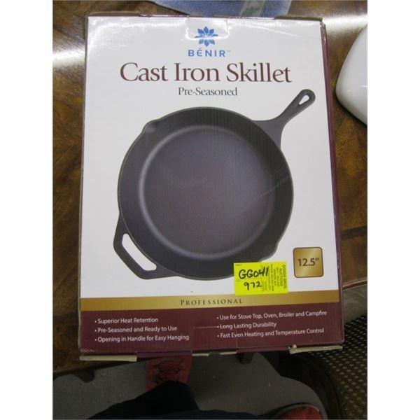 """12 1/2"""" CAST IRON FRY PAN"""
