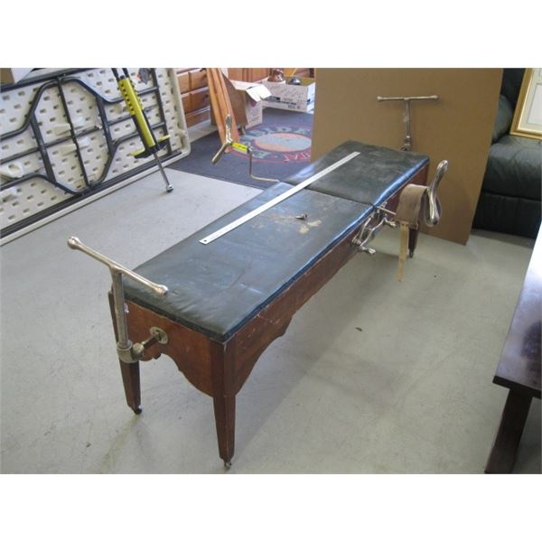 ANTIQUE MEDICAL BENCH/DRs TABLE?