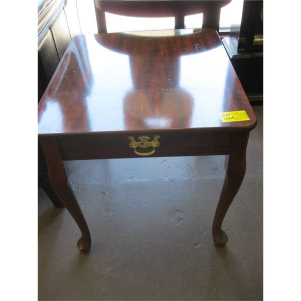 SMALL FRENCH PROVINCIAL END TABLE