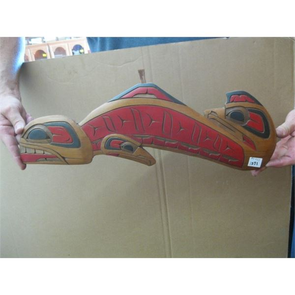 NATIVE CARVING, UNSIGNED
