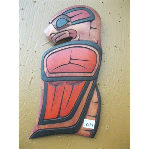 EAGLE CARVING BY FLOYD EDWARDS