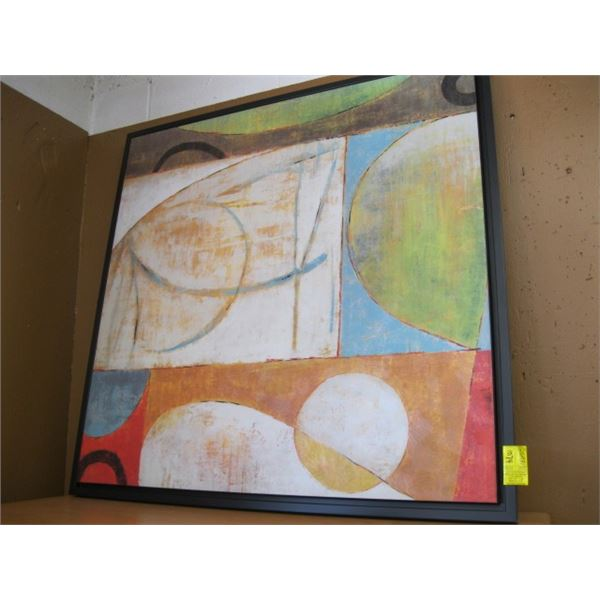 DECORATIVE ABSTRACT PAINTING