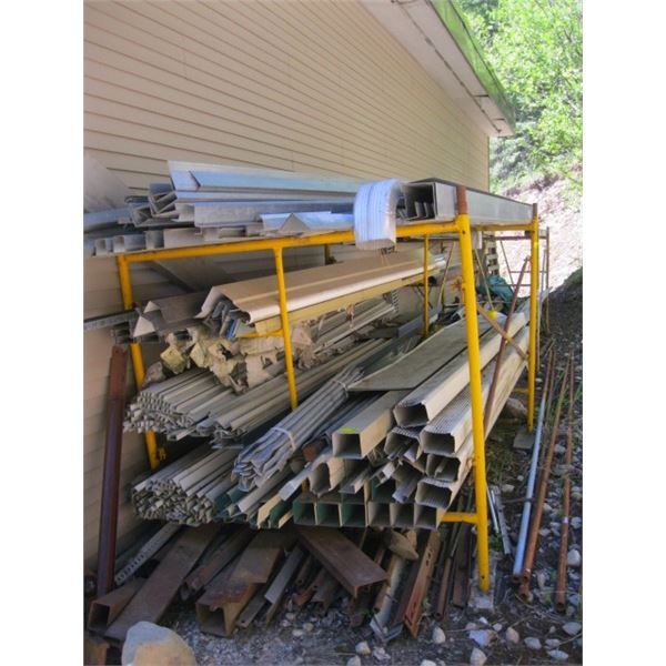 2 LOTS OF MISC. METAL (DOES NOT INCLUDE SCOFFOLD) , **ITEM OFF SITE, CALL FOR VIEWING APPOINTMENT**