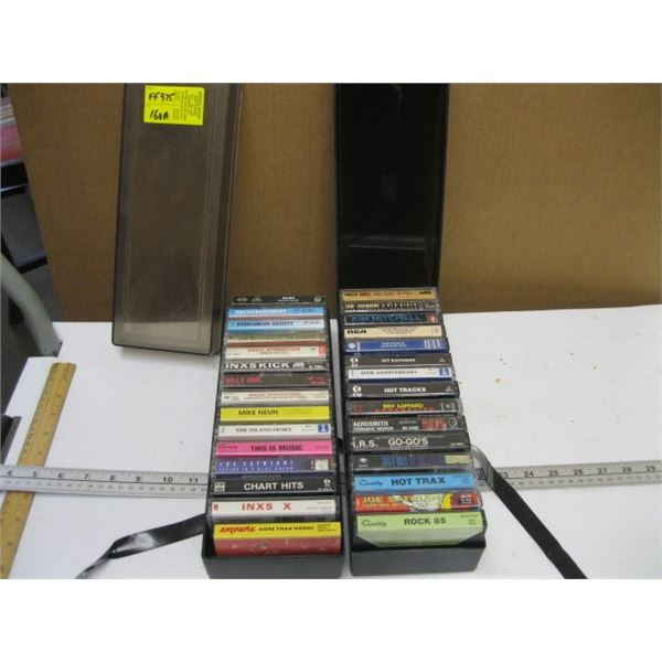 2 CASES OF CASSETTE TAPES