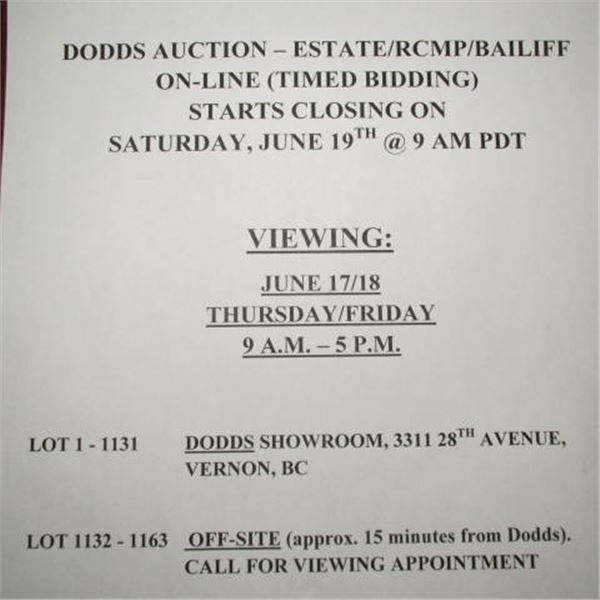 VIEWING TIMES