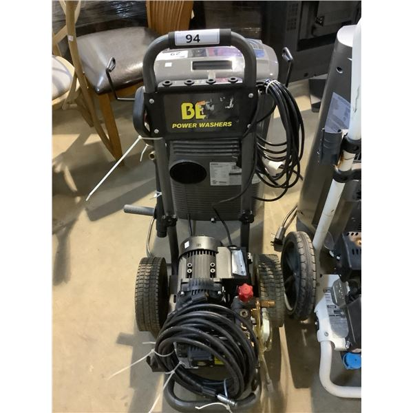 BE POWER WASHERS PRESSURE WASHER MODEL NK1005AMP