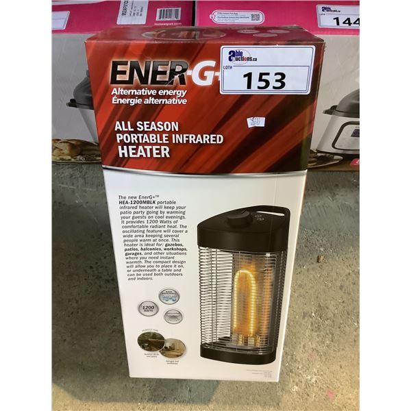 ENER-G+ ALL SEASON PORTABLE INFRARED HEATER