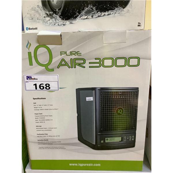 IQ PURE AIR 3000 AIR PURIFIER