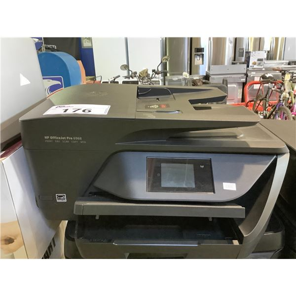 HP OFFICEJET PRO 6968 ALL-IN-ONE PRINTER (NO POWER CORD)