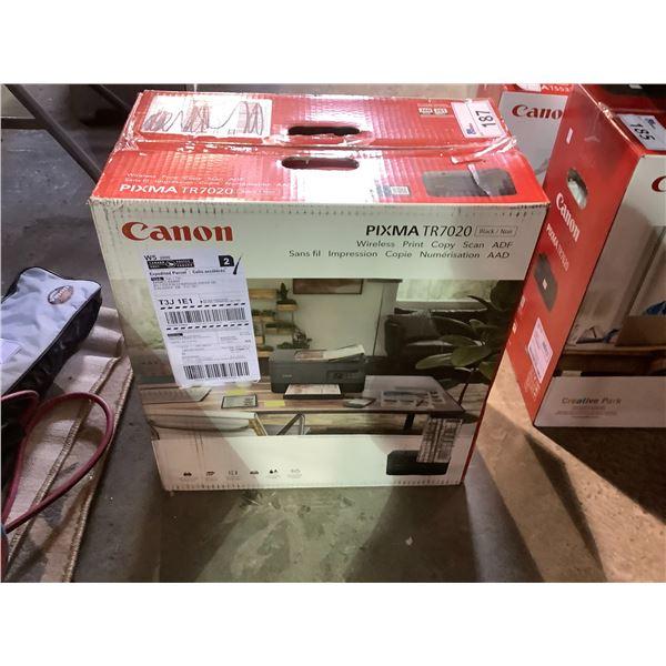 CANON PIXMA TR7020 ALL-IN-ONE PRINTER