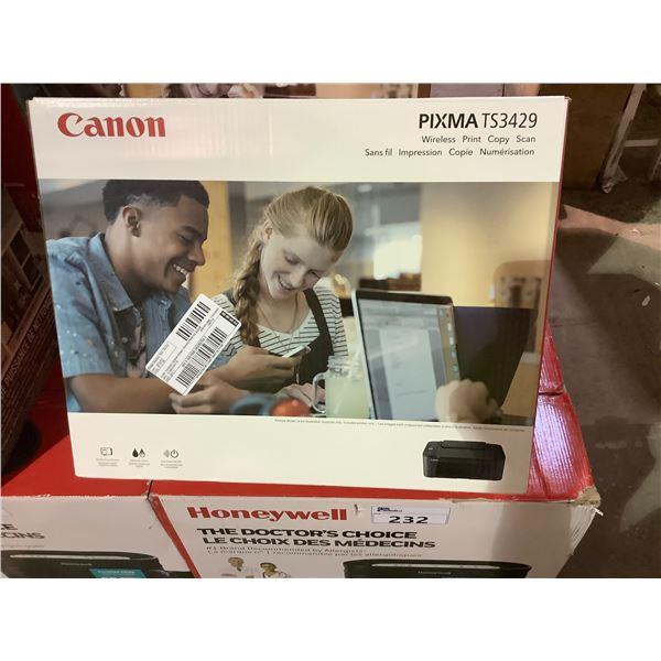 CANON PIXMA TS3429 ALL-IN-ONE PRINTER