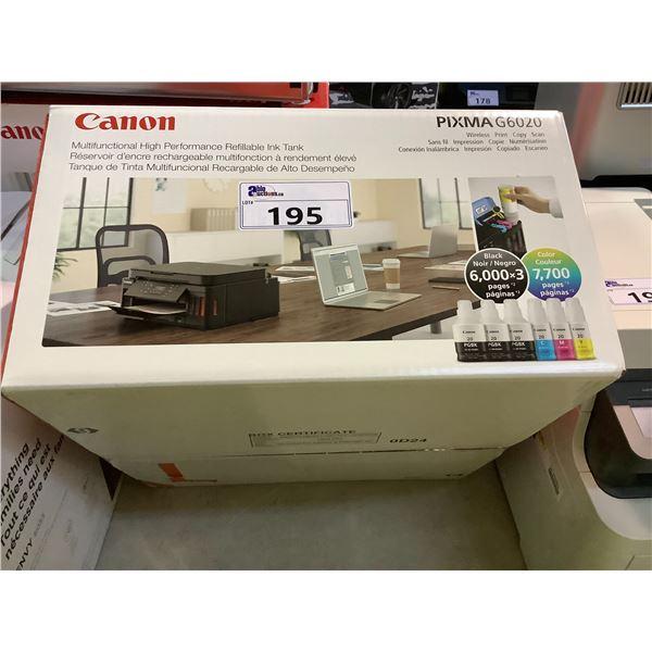 CANON PIXMA G6020 ALL-IN-ONE PRINTER