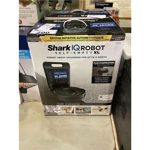 SHARK IQ ROBOT SELF-EMPTY ROBOTIC VAC
