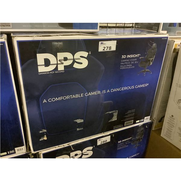 DPS DAMAGE PER SECOND 3D INSIGHT GAMING CHAIR