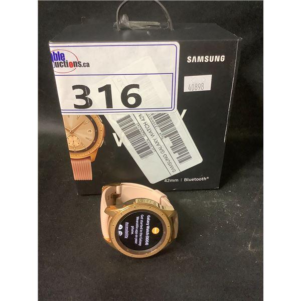 SAMSUNG GALAXY WATCH 42MM (BLUETOOTH, WIFI, GPS)