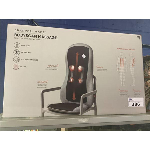 SHARPER IMAGE BODYSCAN MASSAGE SEAT CUSHION