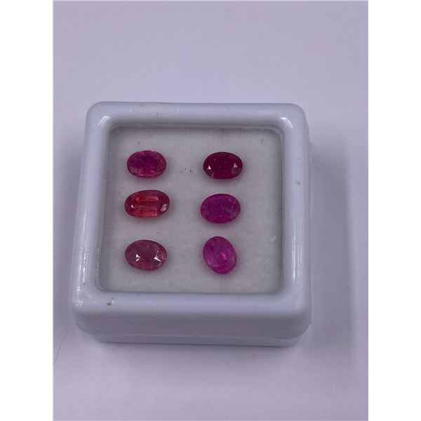 NATURAL PINK SAPPHIRE 2.96CT, 6 X 4MM, OVAL CUT, VS-VVS CLARITY, MADAGASCAR, UNTREATED