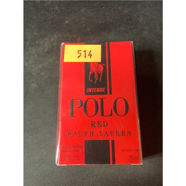 NEW SEALED 2.5 FL OZ POLO RED BY RALPH LAUREN COLOGNE