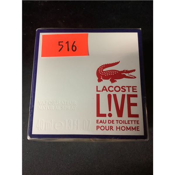 NEW SEALED 40ML LACOSTE LIVE COLOGNE