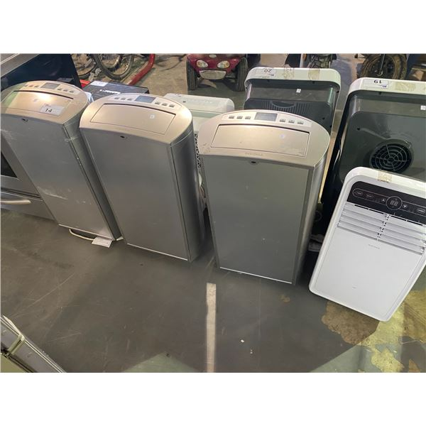 4 AIR CONDITIONER UNITS FOR PARTS AND REPAIR