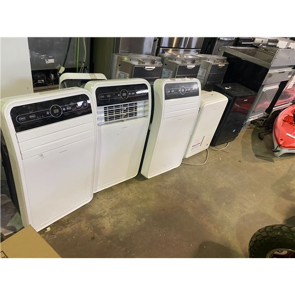 3 AIR CONDITIONER UNITS AND TWO DEHUMIDIFIERS FOR PARTS AND REPAIR