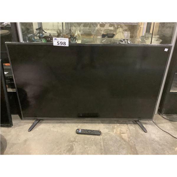 """SHARP 50"""" HDTV MODEL LC-50LBU711C (WITH REMOTE, CORD + STAND)"""