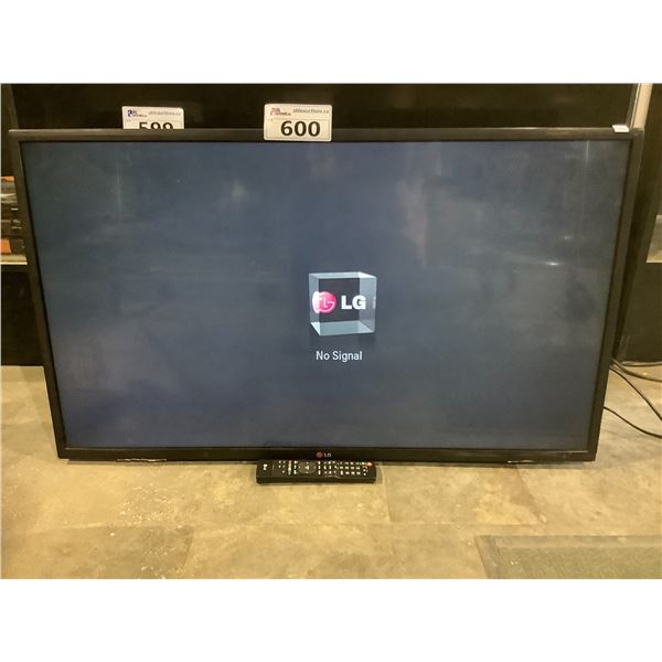 """LG 42"""" HDTV MODEL 42LN5700UH (WITH REMOTE + POWER CORD)"""