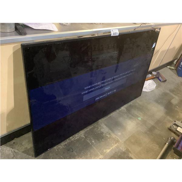 """SAMSUNG 75"""" HDTV MODEL UN75J6300AFXZC (DAMAGED TRIM AROUND TV)"""