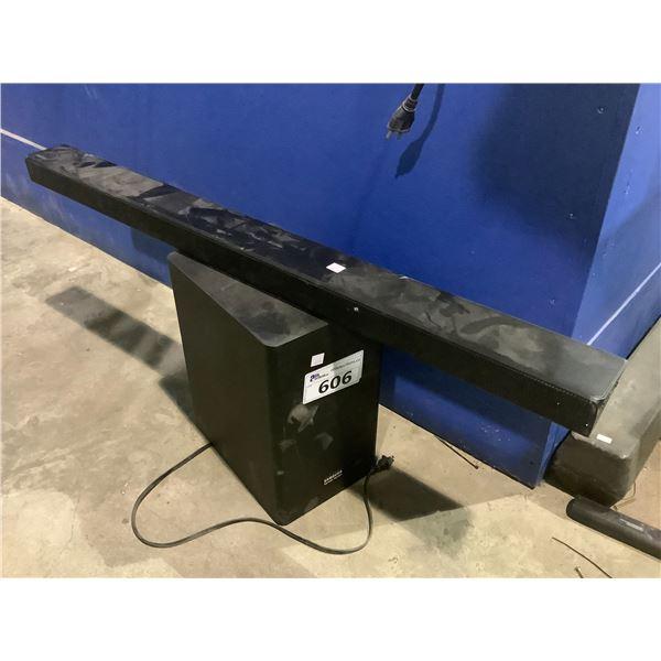 SAMSUNG SOUNDBAR & SUBWOOFER MODEL HW-R650/ZC