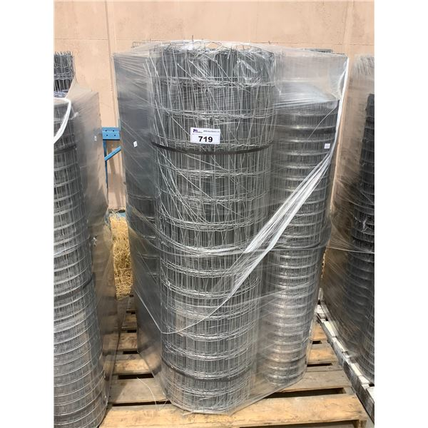 PALLET OF WIRE FENCING ROLLS