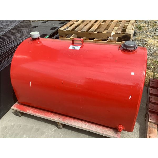 RED FUEL TANK (SIZE UNKNOWN)