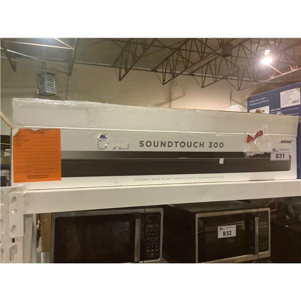 2 INSIGNIA 5L AIR FRYERS & BOSE SOUNDTOUCH 300 SOUNDBAR (FOR PARTS & REPAIR)