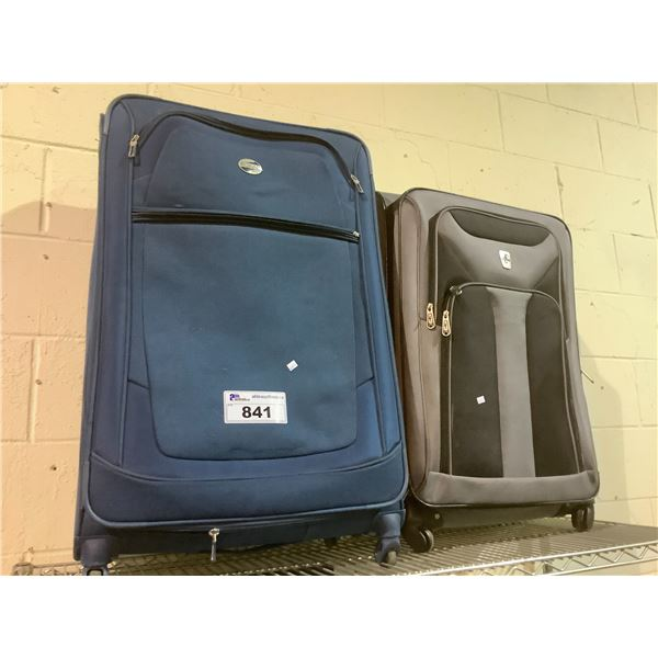 2 TRAVEL LUGGAGE BAGS