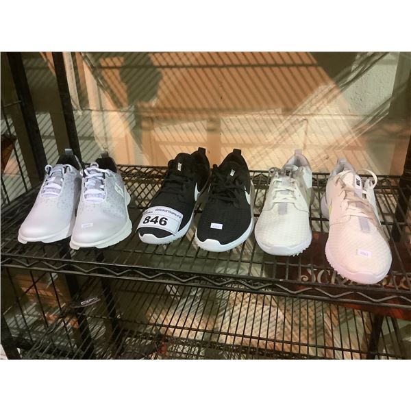 3 PAIRS OF MENS SHOES (SIZE 9) NIKE, ETC